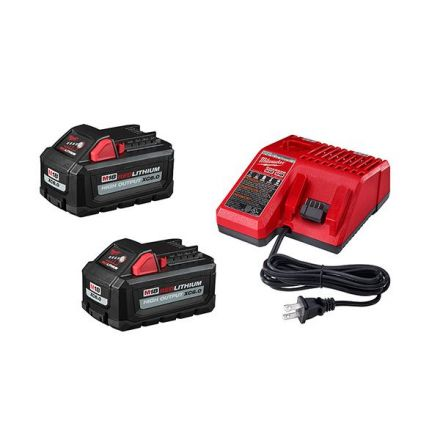 M18 High Outpour Starter Kit with 2 6.0Ah Batteries and Charger