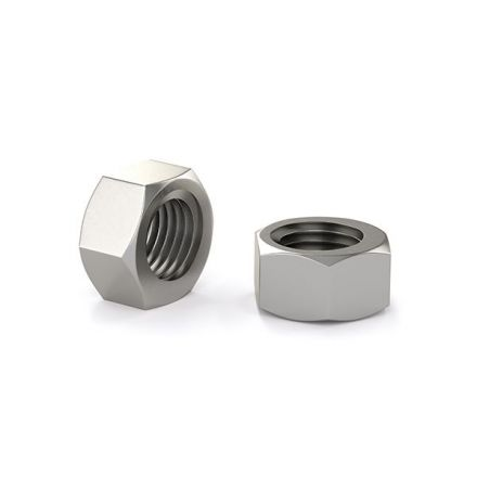 "Hex nut - Stainless steel - 1/4"" (6)"