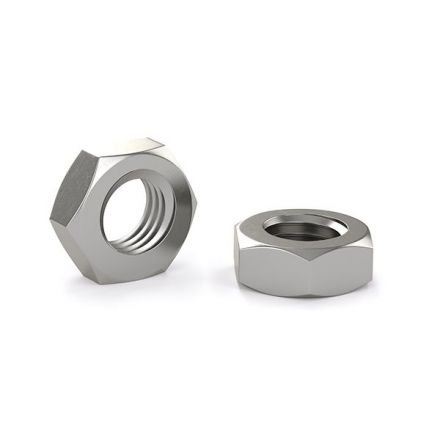 Hex nut for machine screw - Stainless steel - 8-32 (6)