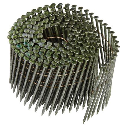 "Framing Nails - 15° Coil - 3 1/4"" - 2700/Box"