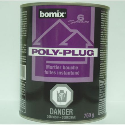 """""""Poly-Plug"""" Instant Water-Plug cement .75kg"""