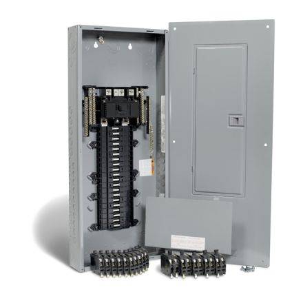200A 40 Spaces/80 Circuit QO Panel Package with Breakers