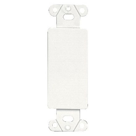 Wall Plate Adapter - Decorator to Blank - White