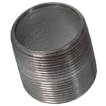 Threaded Galvanized Nipple 1 1/4""