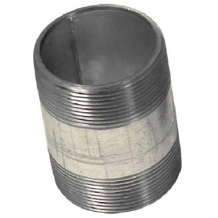 Threaded Galvanized Nipple 2x3""