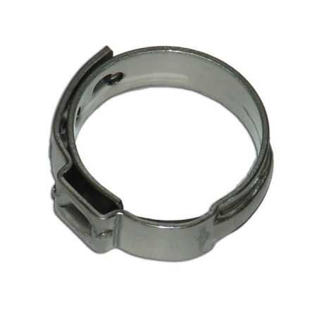 "Pipe Clamp - PEX - 1/2"" - Box of 50 - Stainless Steel"