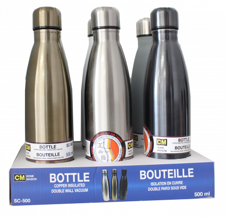 Bouteille isolée 500ML