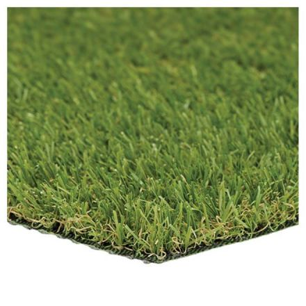 CCGrass Artificial Grass Carpet - 3.3-ft x 3.3-ft - Green
