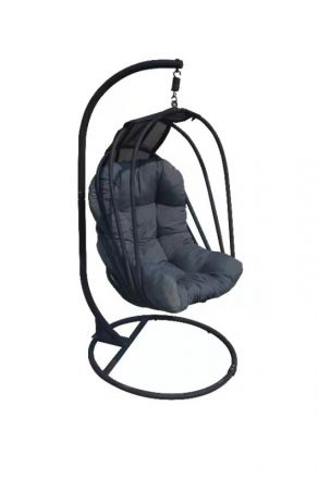 Grey Cocoon chair